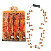 FLASHING NECKLACE - HALLOWEEN
