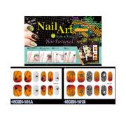 HALLOWEEN NAIL STICKERS-SPIDER