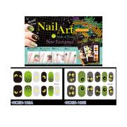 HALLOWEEN NAIL STICKERS-EYES