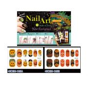 HALLOWEEN NAIL STICKER-PUMPKIN