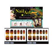 HALLOWEEN NAIL STICKERS-BAT