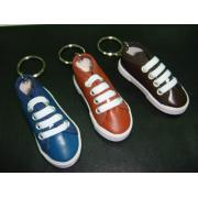 LEATHER SNEAKERS KEYRING