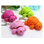 FLASH TURTLE KEYRING WITH SOUND