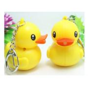 FLASH DUCK KEYRING WITH SOUND