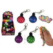 35mm SQUISHY MESH BALL KEYRING